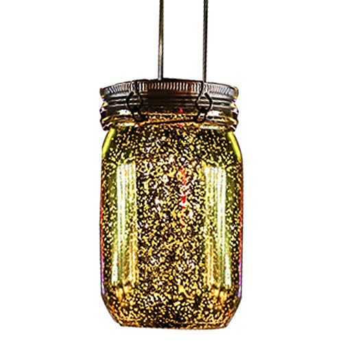 ReFaXi Solar Firefly Lights for Garden Party Wedding Christmas Decoration (Gold Plated) by ReFaXi