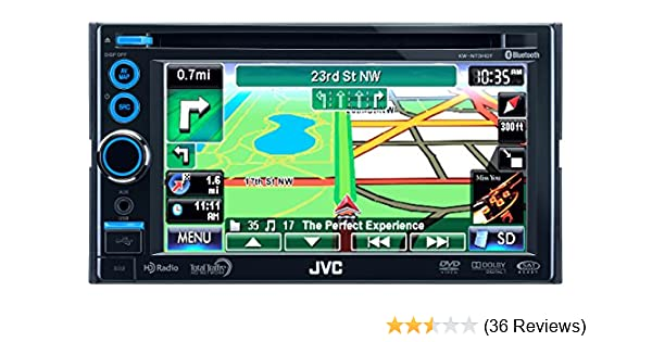 NEW DRIVER: JVC KW-NT3HD CAR NAVIGATION