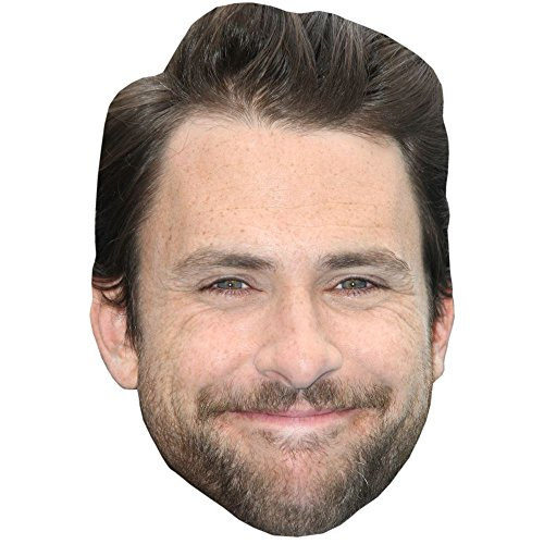 Charlie Day Celebrity Mask, Card Face and Fancy Dress (Charlie It's Always Sunny Costume)