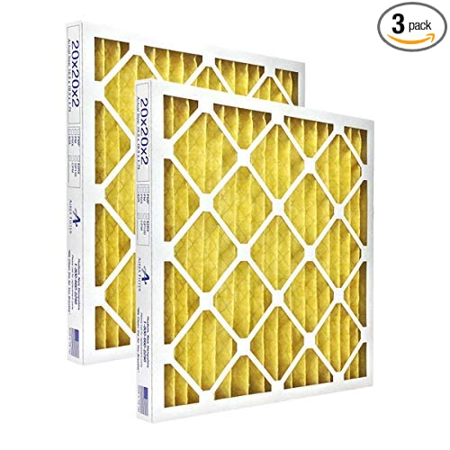 Highest Quality 16x20x2 Pleated Air Filter MERV 11 Actual Size: 15 /½ X 19 /½ X 1 /¾ 3 Pack