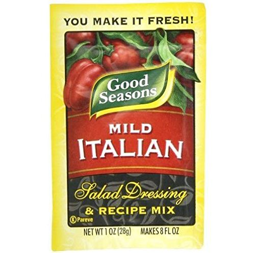 Mild Italian (Good Seasons Mild Italian Dressing Mix (Pack of 4) 1 oz Packets)
