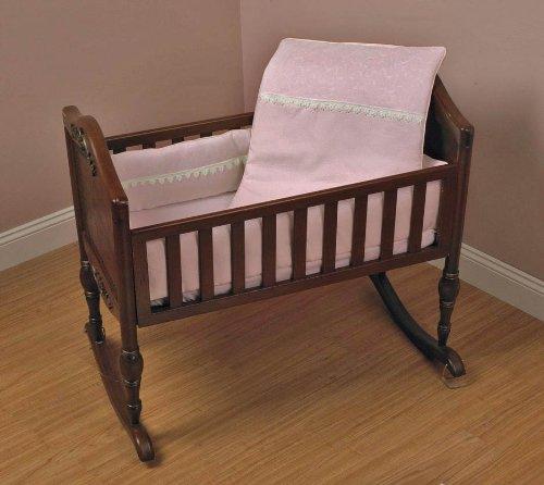 Baby Doll Bedding Bedding Madisson Puffed Brocade Port-a-Crib with Lace Puffed Mini Crib/ Port-a-Crib Bedding Set, Pink by BabyDoll Bedding B004H1TDZG, 株式会社オムニツダ:b9ef4302 --- ijpba.info