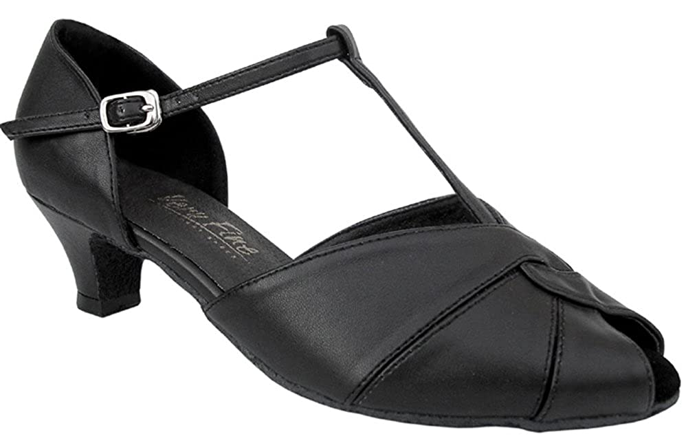 [DanceNwear] レディース B007O2RK7I ブラック 8 B(M) US