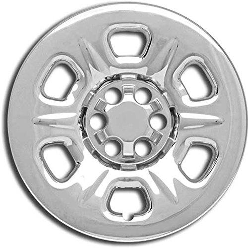 Upgrade Your Auto Premium FX 4pc Chrome 16in Wheel Skins w/6 Raised Spokes for 05-11 Nissan Xterra