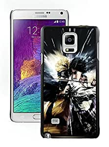Popular Designed Case With Naruto VS Sasuke Cover Case For Samsung Galaxy Note 4 N910A N910T N910P N910V N910R4 Black Phone Case CR-457