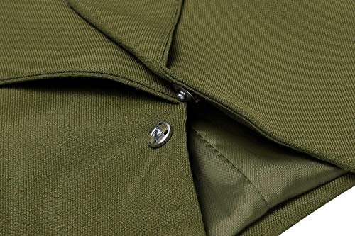 Elegante Giacca Bavero Giaccone Ragazzi Di Tasche Laterali Maglia Classiche Con Business Manica Colori A Cerniera Schwarz Autunno Moda Solidi Blazer Outerwear Lunga Donna rq1xtrw6a