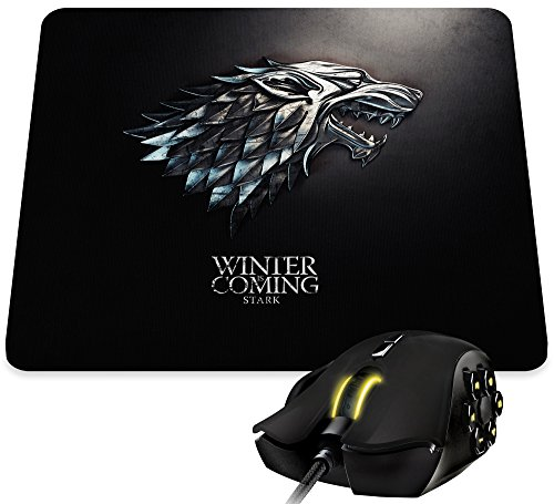 tappetino per mouse gioco del trono del Parlamento e la moneta Winter Is Coming Stark Kanto Factory -