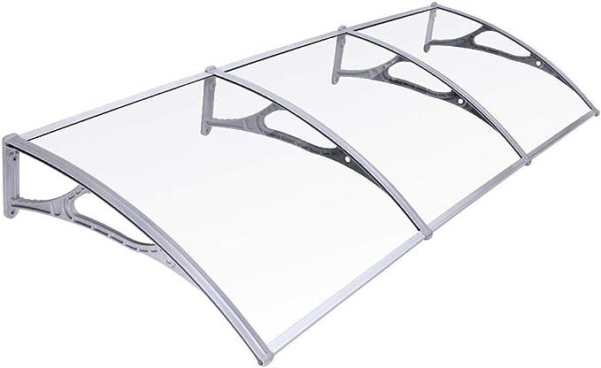 SONGMICS Toldo para terrazas Marquesina Canopy para Puertas 275 x 90 cm GVH279: Amazon.es: Hogar