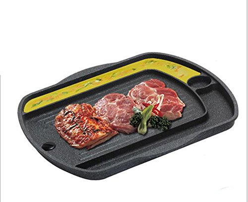 Queen Sense BBQ Grill Pan for Induction cooktop, Induction Cookware, Suitable for All Heat Sources