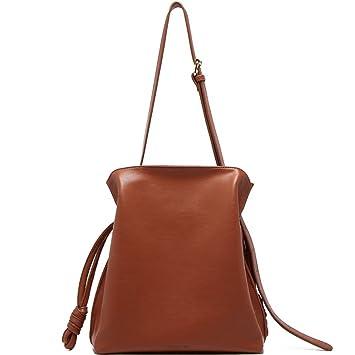 Nclon Cuir pu Doux Grand sac Sac à main hobo 2018 Nouveau Solid color Bandoulière sac Oblique span pack un Sac fourre-tout Sacs portés épaule-noir 9ACMNKX
