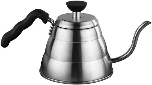 Fina Cafetera 1L Gran capacidad Mano Cafetera Hervidor Botella ...