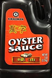 5Lb Kikkoman Oyster Sauce For Savory Flavor To Many Dishes