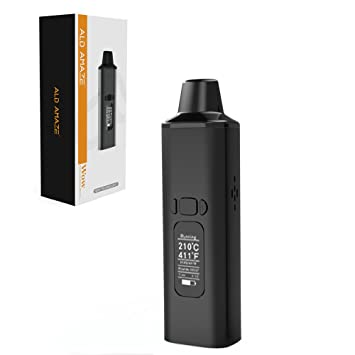 ALD Amaze Dry Herb Vaporizer with Wow Portable Vaporizer for Aromatherapy  Herbs - No Nicotine, No Liquid