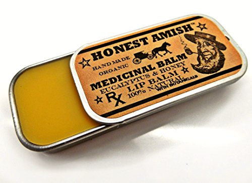 Medicinal Lip Balm By Honest Amish- All Natural Herbal Remedy