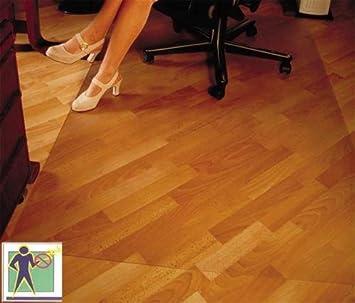 CET Bodenschutzmatte Premium - 120x150cm für Laminat, Parkett ...