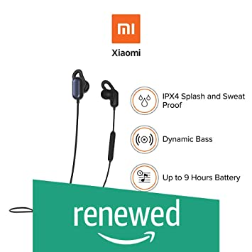 Just Launched Mi Sports Bluetooth Wireless Earphones Amazon In Electronics