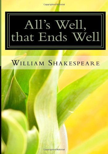 All's Well, that Ends Well PDF