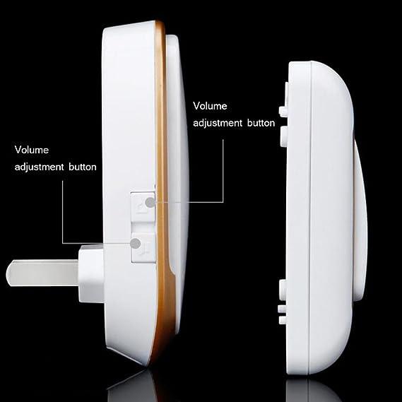 SWJ-doorbells Alarmas De Advertencia SUNYAN Llamadas De ...