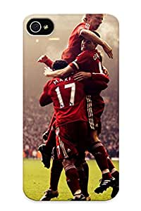 High-quality Durable Protection Case For Iphone 4/4s(sports Liverpool Fc Steven Gerrard ) For New Year's Day's Gift