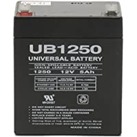 12V 5AH SLA Battery Replacement for Ademco VIA-30PSE Security System