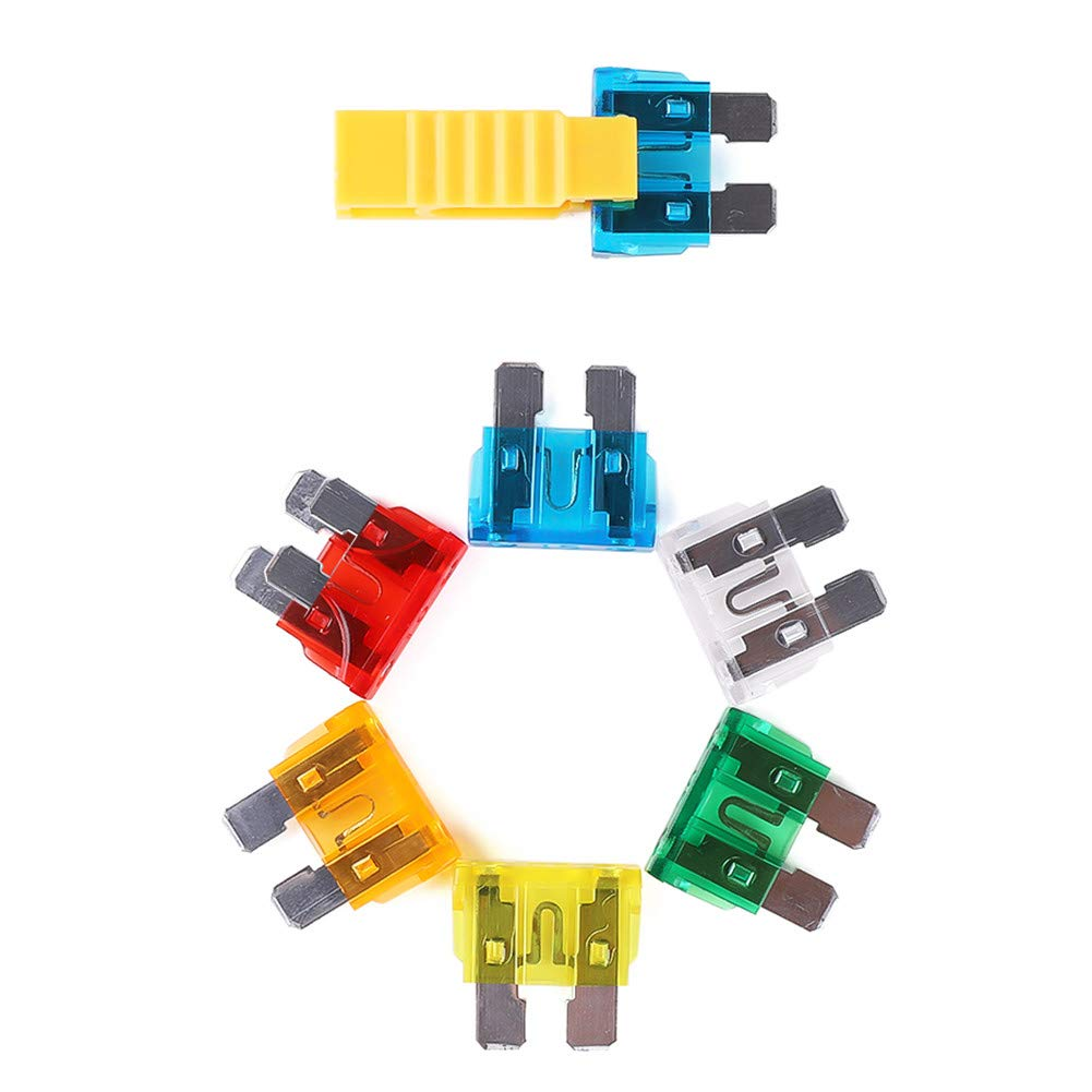 All Trade Direct 10 X 5 Amp Domestic 240V Household Mains Plug Fuse Electrical Cartridge Fuses