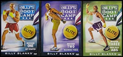 Billy's BootCamp Elite Collection: Mission One, Two and Three (Get Started, Maximum Power, Rock Solid Abs)