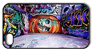 Hipster for sale iPhone 4 cases graffiti walls PC Black for Apple iPhone 4/4S