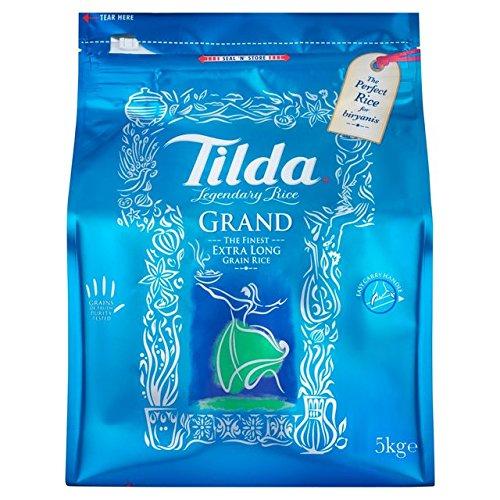 Tilda Grand Finest Extra Long Grain Basmati Rice - 10 Lbs by Tilda