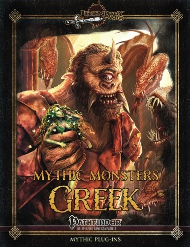 Mythic Monsters: Greek (Volume 47)
