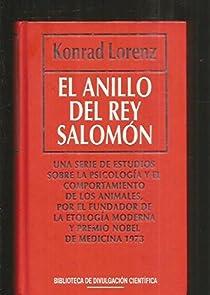 El anillo del rey salomon par Lorenz
