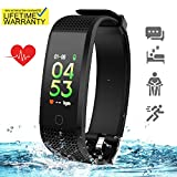 SKYGRAND Updated 2019 Version Fitness Tracker HR, Activity Trackers Health Exercise Watch with Heart Rate Sleep Monitor, Smart Band Calorie Step Counter, Pedometer Walking for Men Women Kids