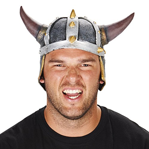 [Viking Helmet Adult Hat] (Viking Outfits For Adults)