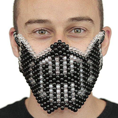 Bane from Batman Clear and Black Kandi Mask Full by Kandi Gear