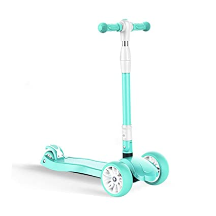 Scooter para Niños Mini Patinete Scooter con 4 LED ...