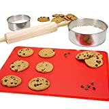 Silicone Bakeware Set, 18-Piece Set including