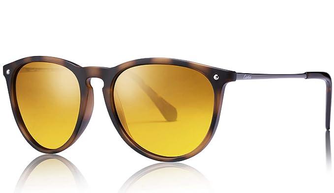 Carfia Gafas de Sol Hombre Mujer UV400 Protección Gafas de Sol Polarizadas: Amazon.es: Ropa y accesorios