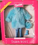 Barbie Fashion Avenue Faux Fur Blue Coat - Exclusive Edition 1999 - Asst 22155