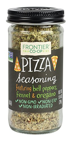 Frontier Pizza Seasoning, 1.04-Ounce Bottle - Ingredients Cheese Pizza