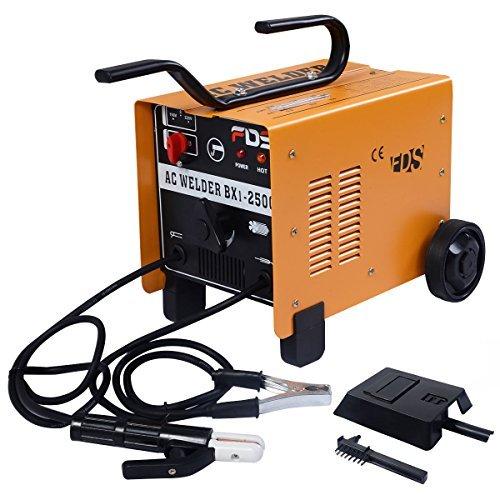 Goplus ARC Welder Welding Machine 250 AMP 110V/220V Soldering Accessories Tools