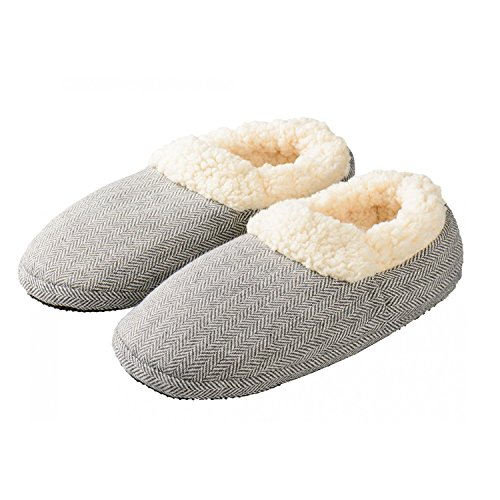 Warmies Slippies Comfort grau Gr 37- 41