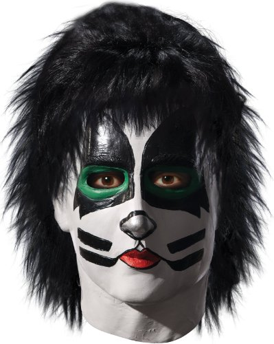The Catman Deluxe Mask Costume Accessory (Adult Kiss The Catman Costume)