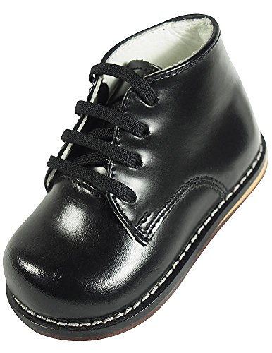 JOSMO Infant Oxfords Shoes-8190-Black, 5 M US Toddler