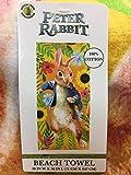 Peter Rabbit The Movie Beach Towel