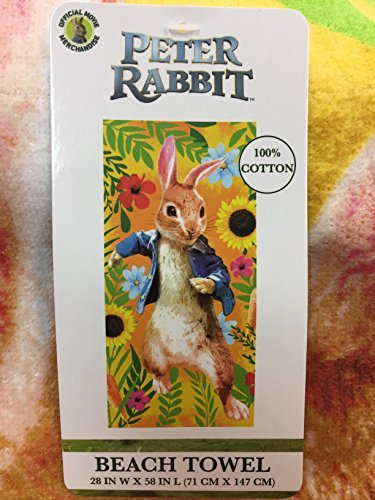 Peter Rabbit The Movie Beach Towel