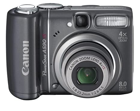 Review Canon PowerShot A590IS 8MP