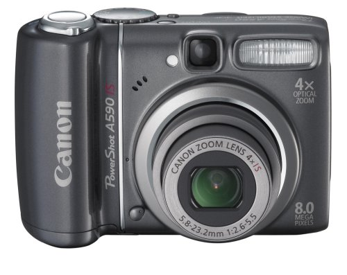 Canon PowerShot A590IS 8MP Digital Camera with 4x Optical Image Stabilized Zoom (OLD -