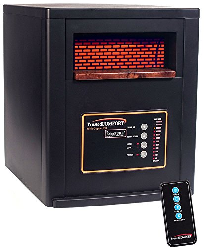 EdenPURE A5551b Trusted Comfort Heater with Solid Copper PTC and (Edenpure Infrared Heater)