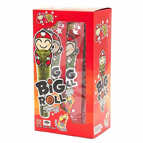 Tao Kae Noi: Big Roll Crispy Grilled Seaweed, 10 count (Spicy) (Crispy Rolls)