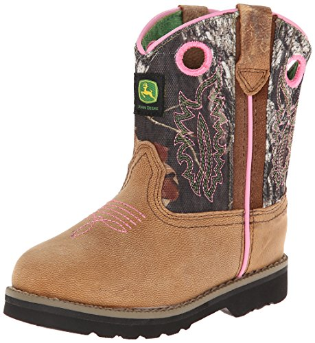 Brown 1318 Boot Toddler Camo Deere Western John x71SXqp