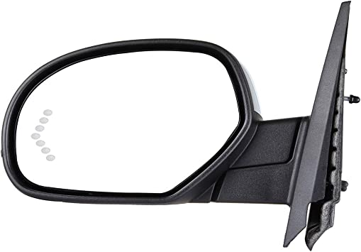 Right Side Rear View Mirror Glass Heated Turn Signal Door Mirror Glass Replacement fit for 2007-2013 GMC Sierra Chevrolet Silverado 1500//2500 HD//3500 HD ECCPP Passenger Side Exterior Mirror Glasses